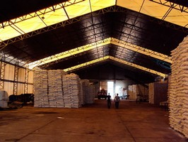 Cobertura garagem policarbonato