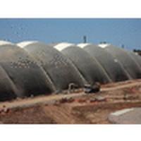 Projeto especial para cobertura inflável
