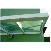 Cobertura de Aluminio com vidro