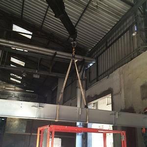 Estrutura metálica industrial