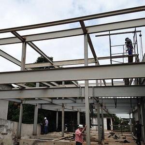 Estrutura metálica para residência
