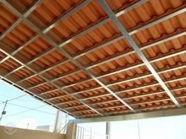 Estruturas metálicas para telhados de casas